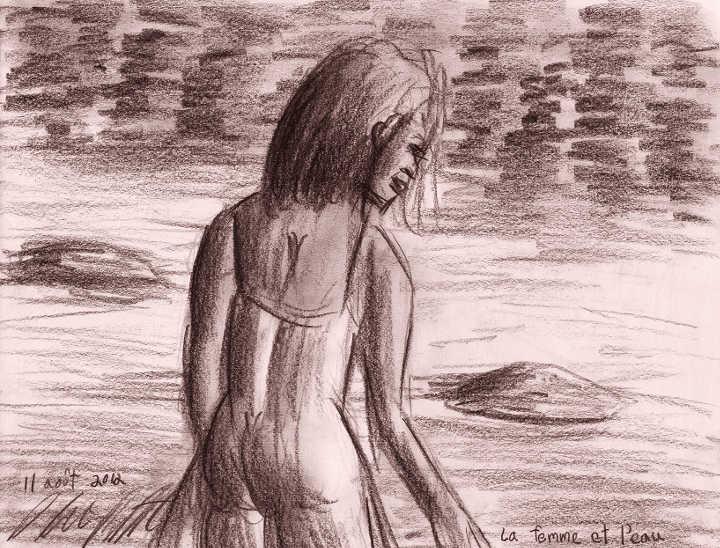 102 - La femme et l'eau