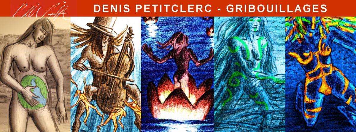 banniere Denis Petitclerc Gribouillages