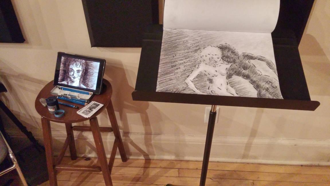 Création d'une image en direct