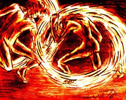 259 - La danse du feu