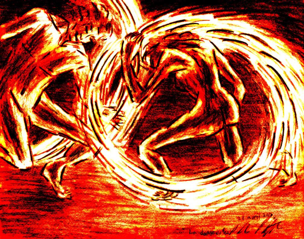 259 – La danse du feu et projet de livre