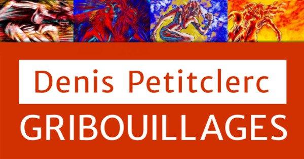 Denis Petitclerc Gribouillages cartouche